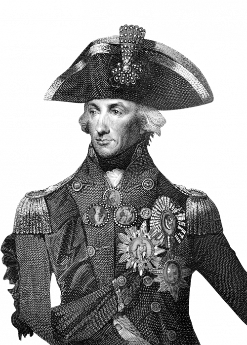 Vice Admiral Horatio Nelson, 1st Viscount Nelson, 1st Duke of Bronté, KB (1758-1805), British flag officer in the Royal Navy